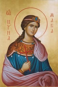Иконa Мария, царевна страстотерпица