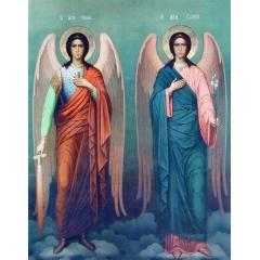 Иконa Михаил и Гавриил, Архангелы
