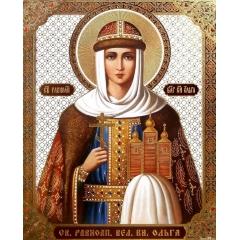Иконa Ольга, царевна страстотерпица