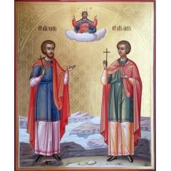 Икона Флор и Лавр, мученик