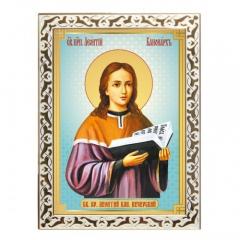 Икона преподобный Леонтий Печерский