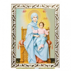 "Икона Божией Матери ""Богородица на престоле"""