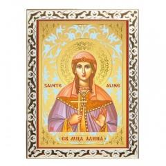 Икона Святая мученица Алина