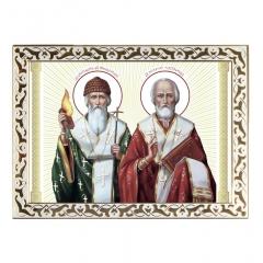 Икона святых Спиридон и Николай