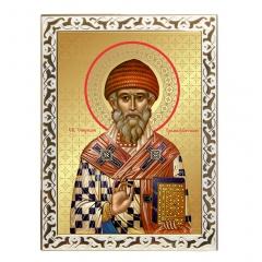 Икона Святителю Спиридону, Тримифунтскому чудотворцу