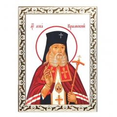 Икона святой Целитель Лука