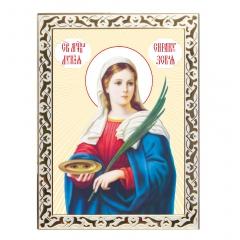 Икона мученица Лукия Сиракузская