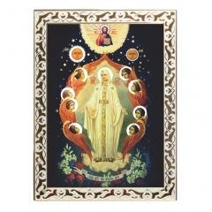 Икона Божией Матери Милосердие в двери