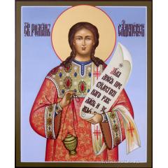Иконa Роман Сладкопевец, преподобный
