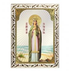 Икона мученицы Алла Готфская