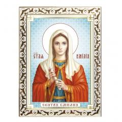 Икона святая Еми́лия
