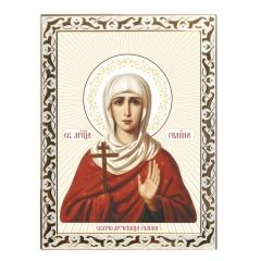 Икона Галины святой мученицы
