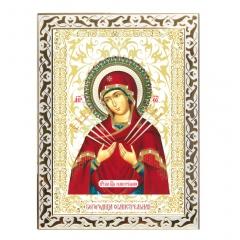 Икона Божией Матери - Семистрельная