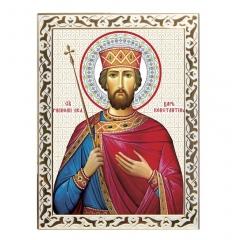 Икона святой Константин, равноапостольный царь