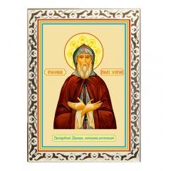 Икона Преподобный Иринарх, затворник Ростовский