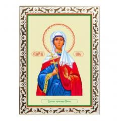 Икона Едесская мученица, Вивея, Февея